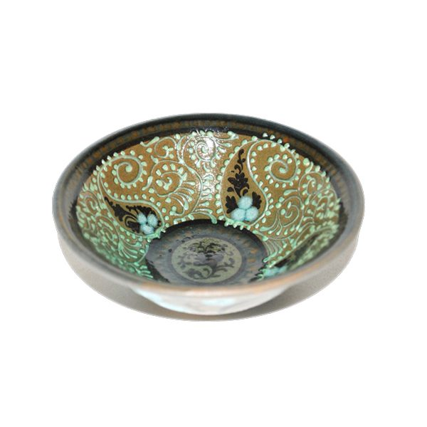 luxurious ceramic salad bowl with colourful design for sale