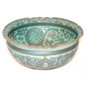 uzbek ceramic fruit bowl for sale in uk
