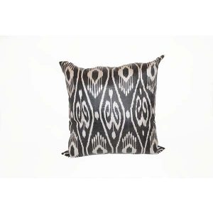 handwoven elegant cushion with two colours