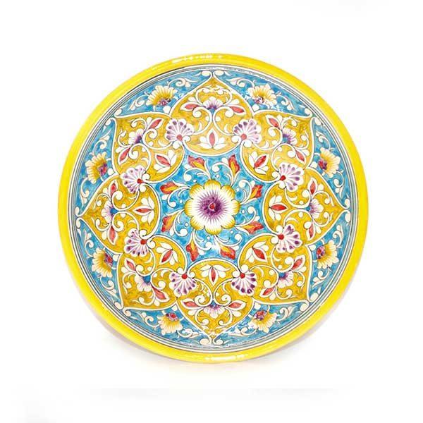 fabulous ceramic yellow bowl for sale
