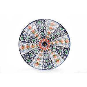 floral painted ceramic plate for sale in uk