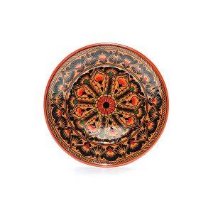 handmade colourful bukhara ceramics