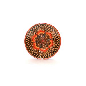 exclusive arabesque handmade ceramic plate for sale