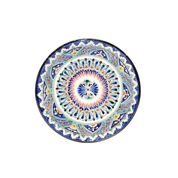 unique ceramic floral plate for sale
