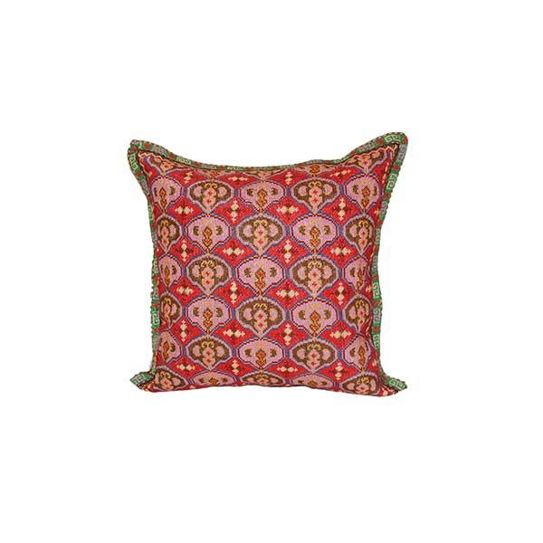 pretty cushion with handmade design for sale