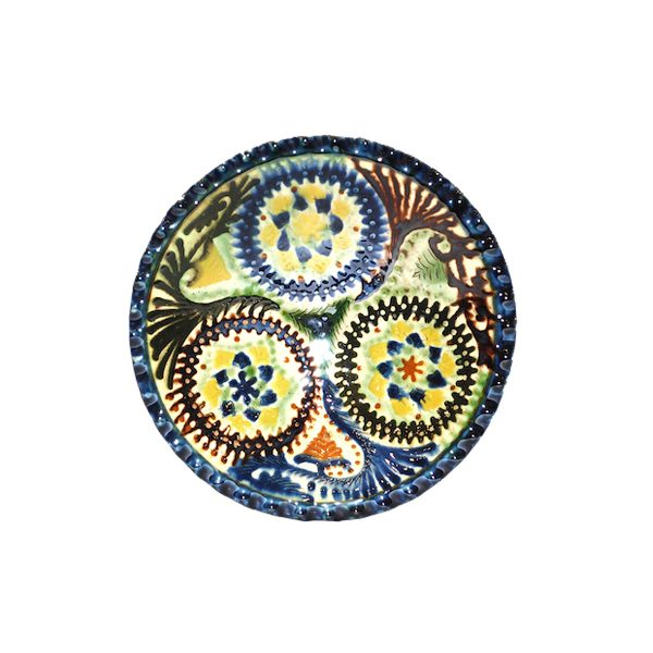 ornate bukhara fruit plate for sale