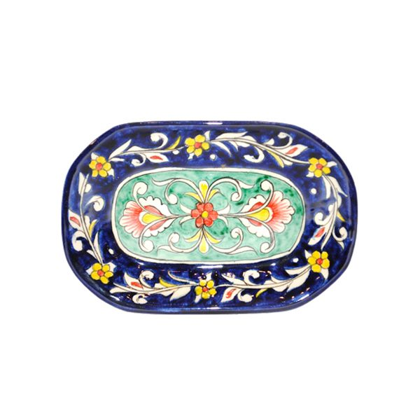 beautiful oval ceramic plate for sale