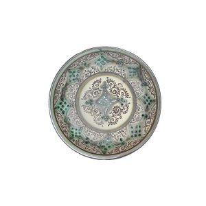 rare elegant ceramic royal plate