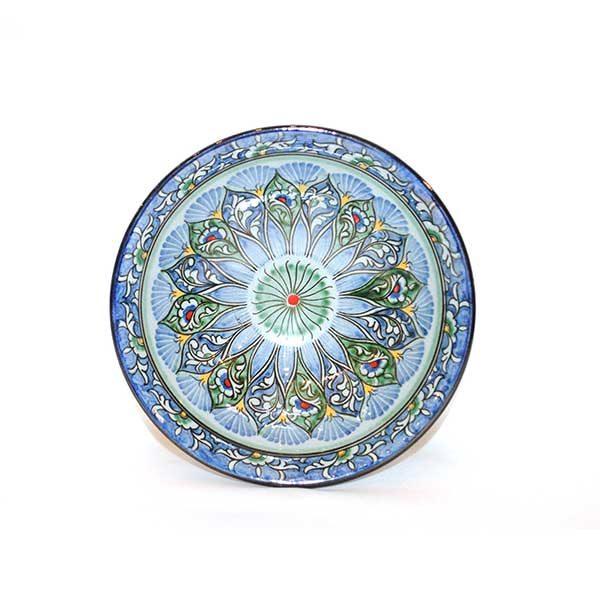 beautiful floral ceramic salad bowl