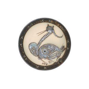 handmade majestic ceramic plate for sale