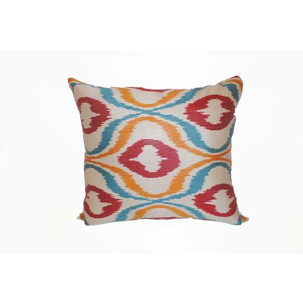 handwoven opulent cushion with unique design