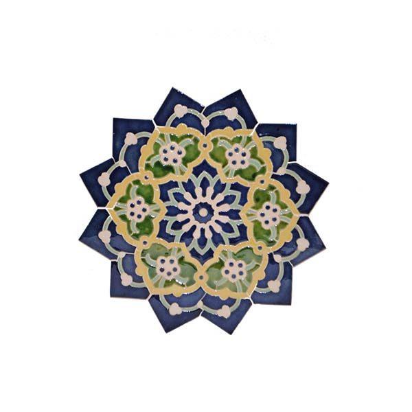725fd7bb110b Unique Mosaic Star Tile With Versatile And Colourful Design
