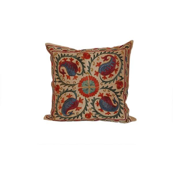 exclusive hand embroidered cushion for sale in uk