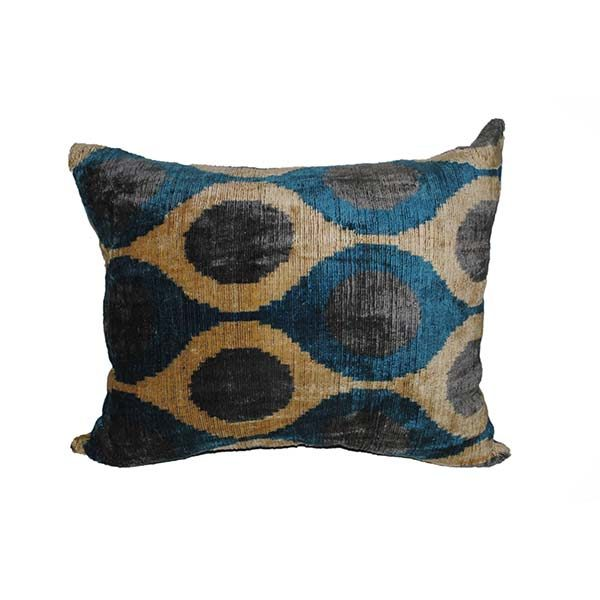 handwoven velvet cushion with unique design for sale in uk