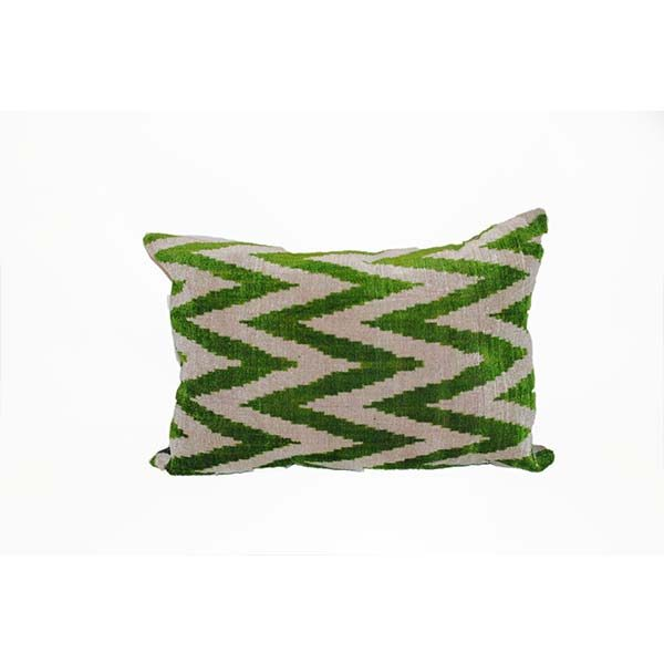 pure silk velvet cushion with exceptional design