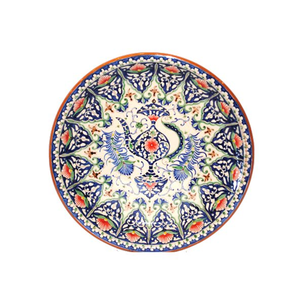 beautiful and impressive handcrafted plate for sale