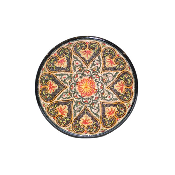 opulent patterned plate with beautiful design for sale in uk