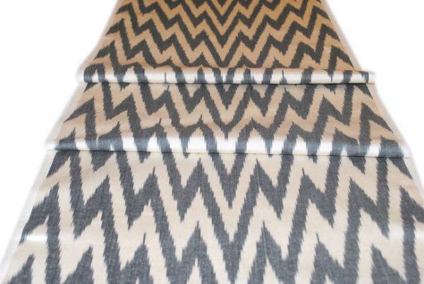 elegant fabric with rare handmade design